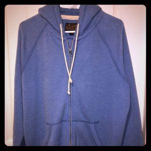 Lucky Brand Zip Up Sweatshirt
